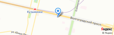 Зеравшан на карте Москвы