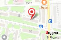 Схема проезда до компании Кристо-Канц в Москве
