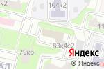 Схема проезда до компании Эстет Плюс в Москве