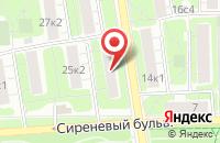 Схема проезда до компании Центродент в Москве