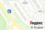 Схема проезда до компании Sushibox в Москве