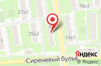 Схема проезда до компании Промснаб в Москве