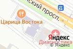 Схема проезда до компании Легалинг в Москве
