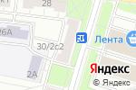 Схема проезда до компании ИталКосметика в Москве