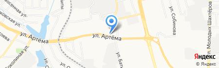 Колбасонька+Кондитерка на карте Донецка