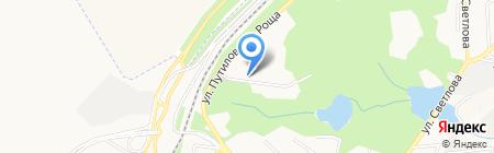Донспецснаб на карте Донецка