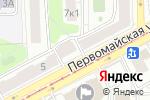 Схема проезда до компании Выбор красоты в Москве