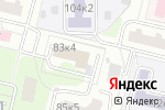 Схема проезда до компании Konfor в Москве