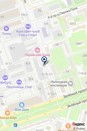 АВАРИЙНАЯ СЛУЖБА ВИКТОРИЯ-А на карте Москвы