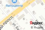 Схема проезда до компании Донкар в Донецке