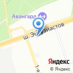 Московский Дом Книги на карте Москвы
