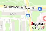Схема проезда до компании Цветочный магазин на Никитской в Москве