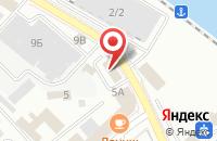 Схема проезда до компании Терминал Юг в Новороссийске