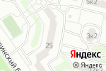 Схема проезда до компании Изюминки в Москве
