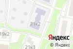 Схема проезда до компании Средняя общеобразовательная школа №1987 с дошкольным отделением в Москве