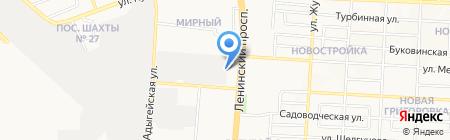Банкомат Банк Кредит Днепр на карте Донецка