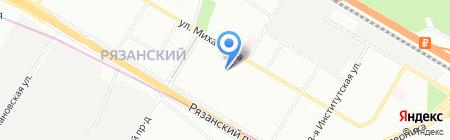 РОСПРОМУПАК на карте Москвы