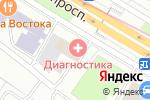 Схема проезда до компании ФорсайТрейд в Москве
