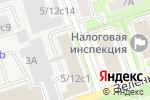 Схема проезда до компании Дай лапу в Москве