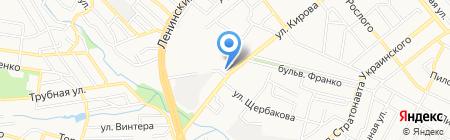 Виссманн на карте Донецка