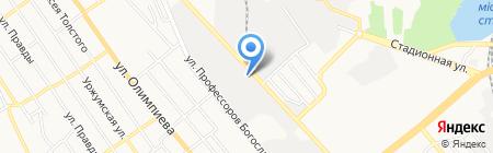 Телеком-Сервис на карте Донецка