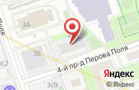Схема проезда до компании Магистраль Лтд в Москве