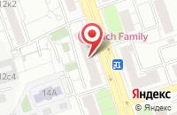 Схема проезда до компании Силуэт в Москве