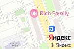 Схема проезда до компании ВоенСнаб в Москве