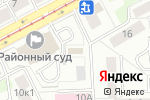 Схема проезда до компании Имею право в Москве