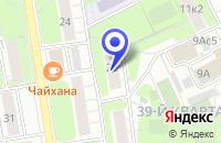 Схема проезда до компании ПО КЭБ в Москве