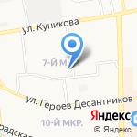 Кондитер на карте Новороссийска