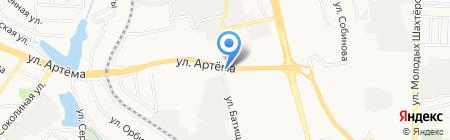 Перша столиця на карте Донецка