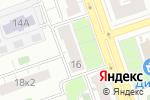 Схема проезда до компании BIPMIX в Москве