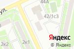 Схема проезда до компании Алмаз в Москве