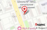 Схема проезда до компании Современные Информационные Решения и Технологии  в Москве