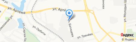 Вента на карте Донецка