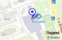 Схема проезда до компании ПТФ КВАЗАР-ШКОЛЬНАЯ МЕБЕЛЬ в Москве