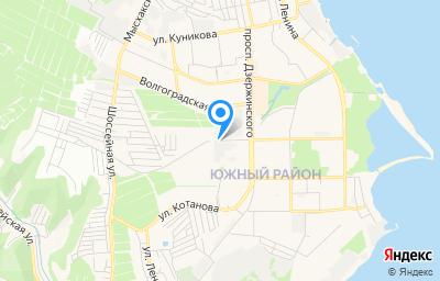 Местоположение на карте пункта техосмотра по адресу Краснодарский край, г Новороссийск, тер. ГСК 44, пр-кт Дзержинского