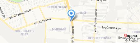 PRETTY на карте Донецка