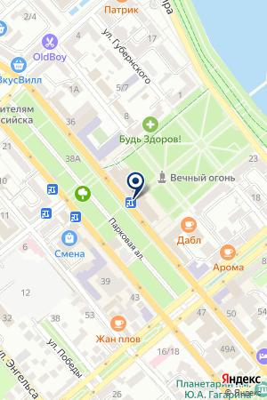 АПТЕКА МИР ДЕТСТВА на карте Новороссийска