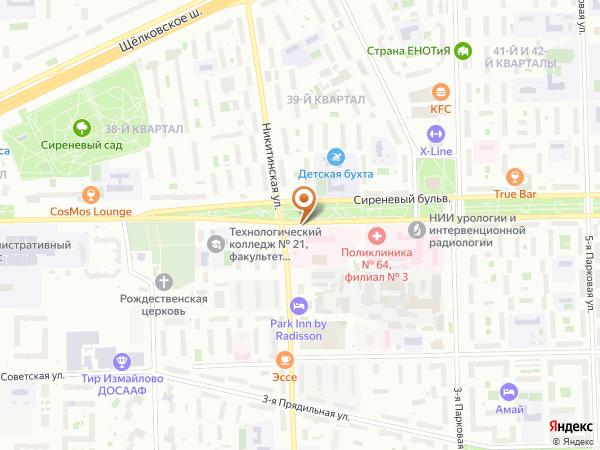 Остановка Никитинская ул. в Москве