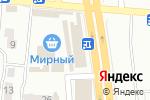 Схема проезда до компании Красотка в Донецке