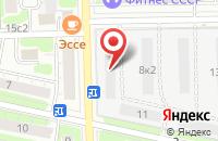 Схема проезда до компании Юго-Восток Ск в Москве