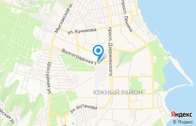 Местоположение на карте пункта техосмотра по адресу Краснодарский край, г Новороссийск, ул Волгоградская, д 133А