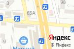 Схема проезда до компании Континент-Окна в Донецке