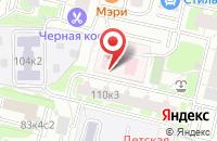 Схема проезда до компании Детская стоматологическая поликлиника №25 в Москве