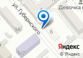 Деловой Новороссийск на карте