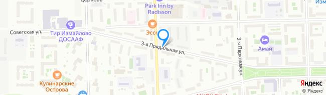 улица Прядильная 3-я