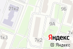 Схема проезда до компании Иларим в Москве