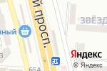 Схема проезда до компании Точка суши в Донецке
